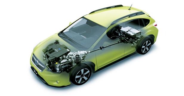 Subaru lance la technologie hybride au Japon