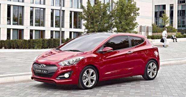 Hyundai i30 3 portes : les tarifs