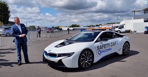 BMW i8 : safety-car officiel de la Formule E