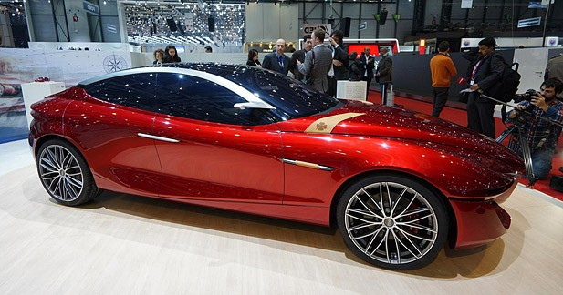Concept Gloria : des clés sur le style de la future grande Alfa ?