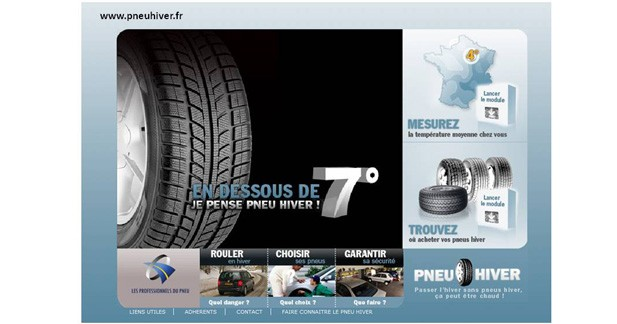 Sécurité : en dessous de 7 degrés, passez aux pneus hiver