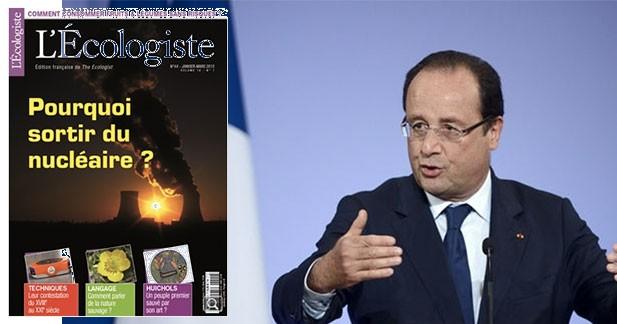Interview de François Hollande : « plus on construira d'autoroutes, mieux ce sera pour la biodiversité »