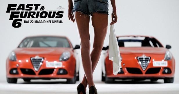 L'Alfa Romeo Giulietta mouille la carrosserie dans Fast and Furious 6