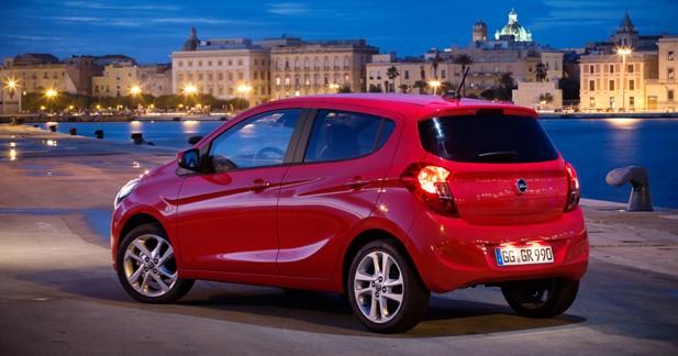 Opel Karl: nouvelle entrée de gamme