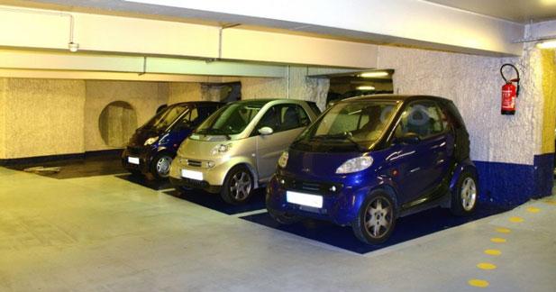 La SAEMES invente le parking éco responsable