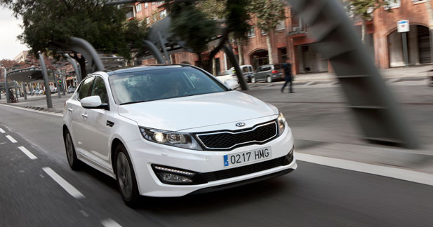 La Kia Optima Hybride encore plus propre à Genève