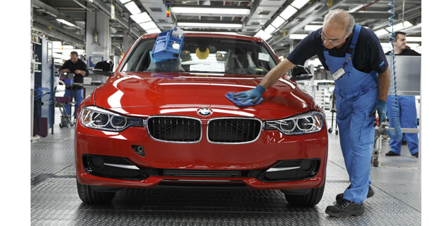 La BMW Série 3 sera produite sans déchets non recyclables