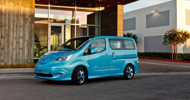 Nissan confirme la production en série de l'e-NV200 en 2013