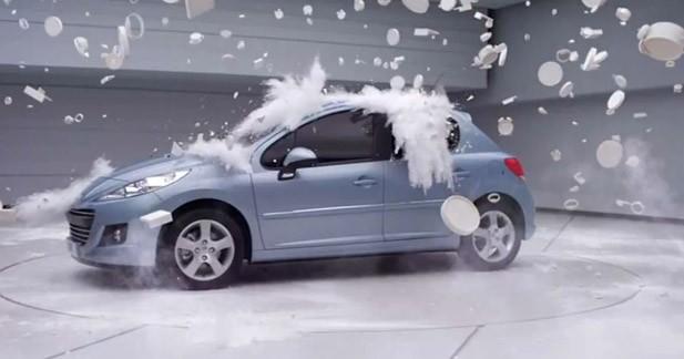 Campagne en 3D pour la Peugeot 207