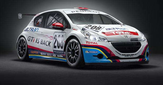 Peugeot aligne 3 208 GTI aux 24 Heures du Nürburgring