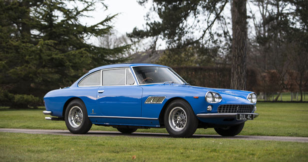 La Ferrari de John Lennon en vente aux enchères