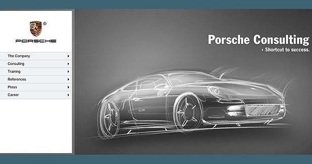 Porsche Panamera coupé : une esquisse sur un site officiel entretient la rumeur