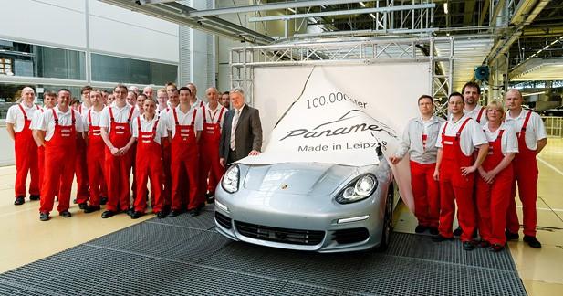 La 100 000e Porsche Panamera est sortie de l'usine