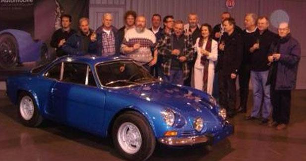 Alpine fait son entrée à la Cité de l'Automobile de Mulhouse