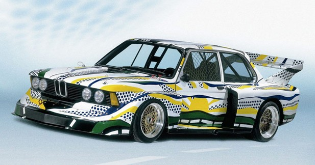 La BMW Art Car de Roy Lichtenstein