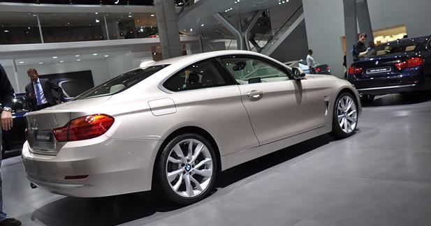 La BMW Série 4 dévoilée : Première du nom