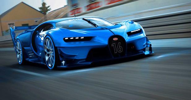 Un look tiré de la Bugatti Vision Gran Turismo
