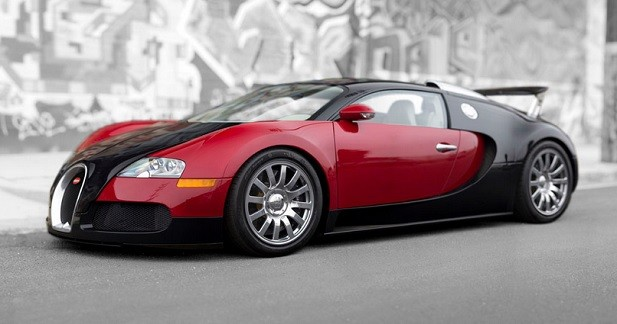 la toute premi re bugatti veyron est vendre. Black Bedroom Furniture Sets. Home Design Ideas
