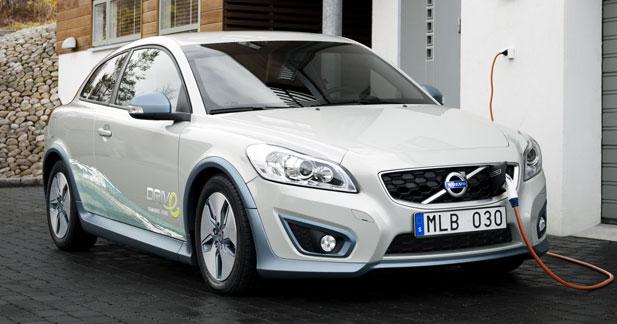 Les Volvo C30 électrique et V70 hybride seront au Mondial