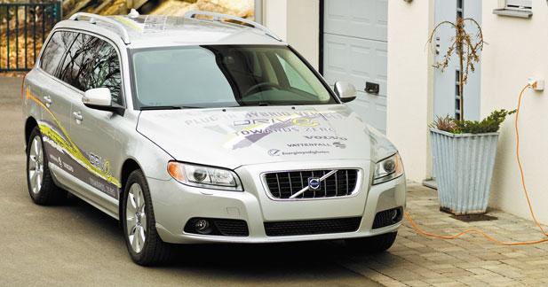 La V70 hybride rechargeable prête dès 2012