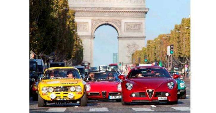 Retour sur le défilé Alfa du centenaire à Paris