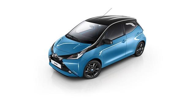 Toyota Aygo X-Cite : tout de bleu vêtue