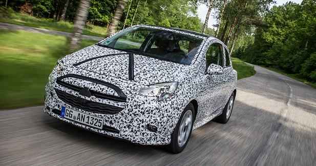 Prochaine Opel Corsa : premières photos et infos