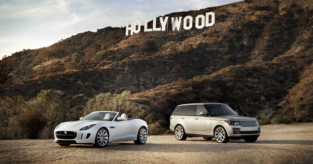 Jaguar et Land Rover font le show à Hollywood