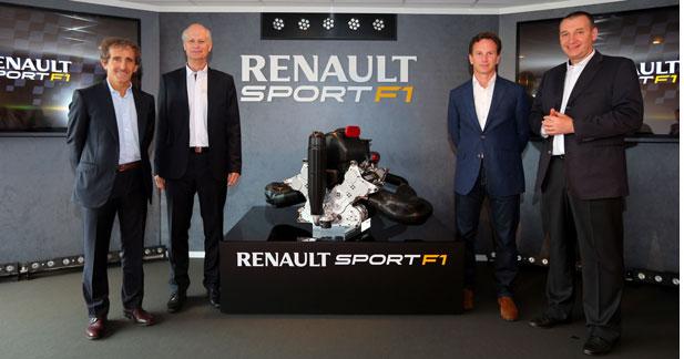 Renault F1 dévoile son V6 Turbo hybride au salon du Bourget