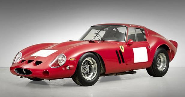 Ferrari 250 GTO : 38 millions de dollars aux enchères à Pebble Beach