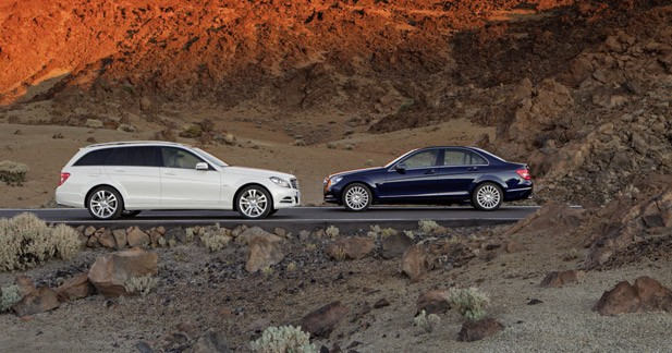 Mercedes Classe C restylée : commandes ouvertes