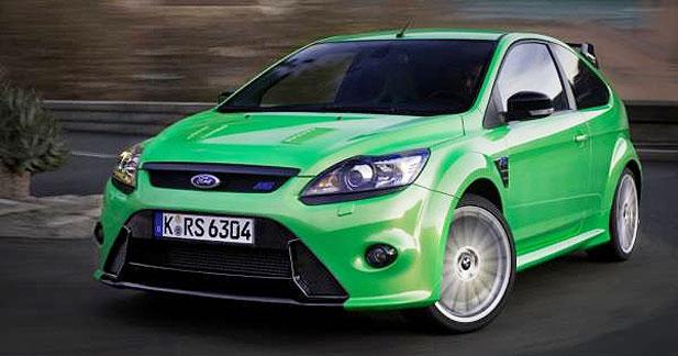 1ère sortie d'usine pour la Ford Focus RS