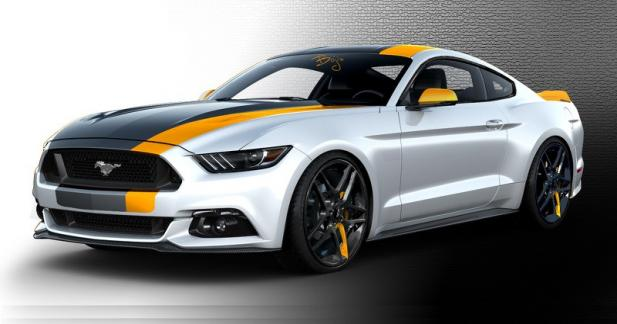 Ford apportera un troupeau de Mustang personnalisées au SEMA