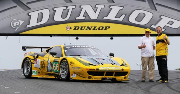 La Dunlop Art Car réalisée par un français natif du Mans