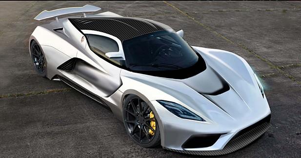 Hennessey prépare la Venom F5 : l'anti-Bugatti Veyron