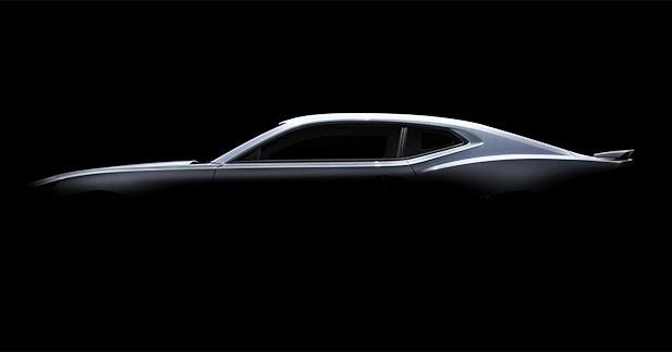 Chevrolet présente quelques morceaux de sa nouvelle Camaro