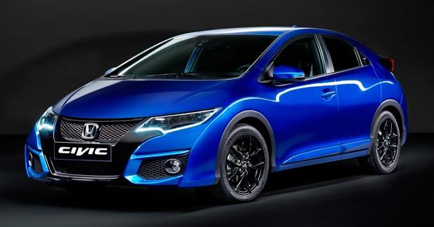 Mondial Auto 2014 : Honda Civic 2015, la japonaise s'énerve
