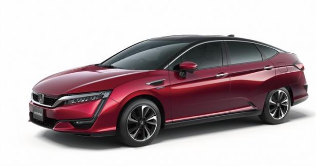 Honda dévoile sa nouvelle voiture de série à hydrogène