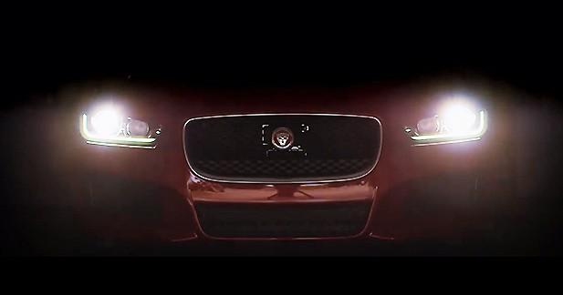 Vidéo : un ultime teaser pour la Jaguar XE