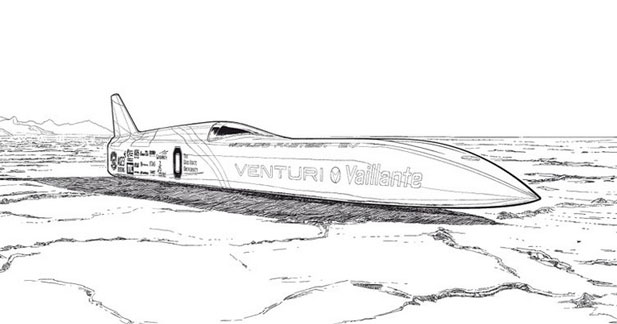 Michel Vaillant va prendre les commandes de la Venturi VBB3