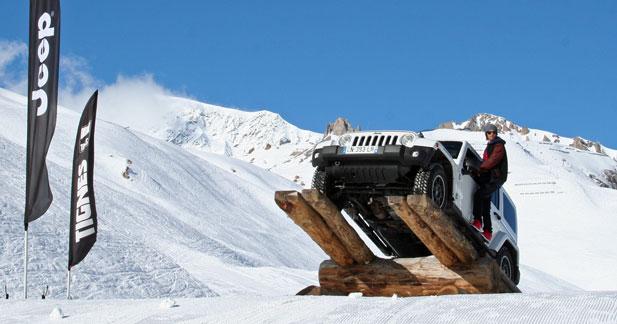 Jeep partenaire des X Games à Tignes