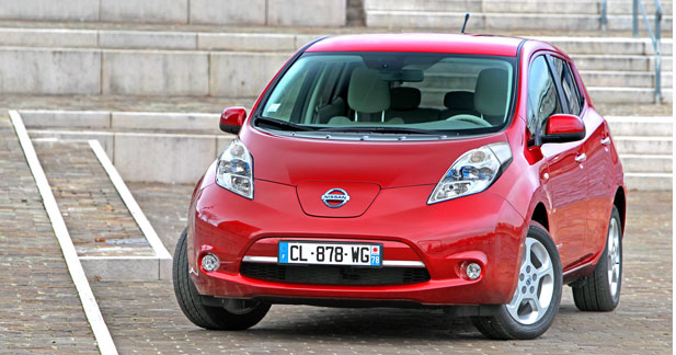 la nissan leaf moins ch re la location. Black Bedroom Furniture Sets. Home Design Ideas