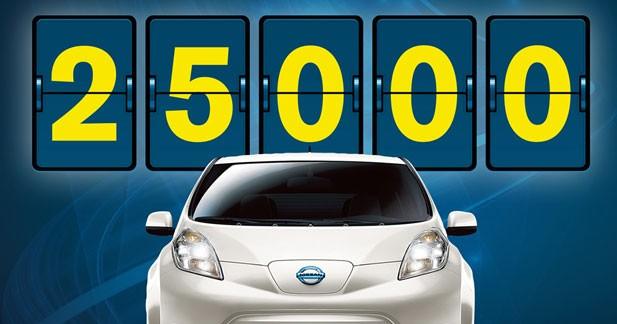 La Nissan Leaf conforte son leadership sur l'électrique