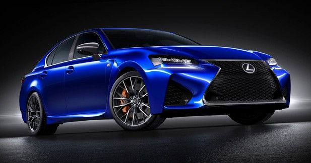 Detroit 2015 : Lexus GS F, la force tranquille perd patience
