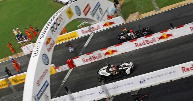 Ogier, Schumacher et Kristensen à la Course des Champions 2013