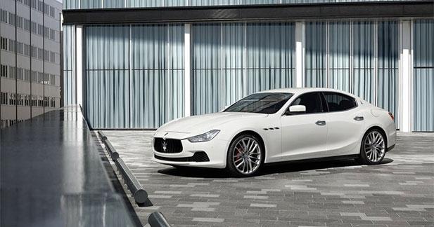 Maserati vise 50 000 ventes annuelles d'ici à deux ans