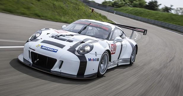 Porsche dévoile officiellement sa nouvelle 911 GT3 R