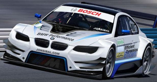 BMW revient en DTM (officiel)