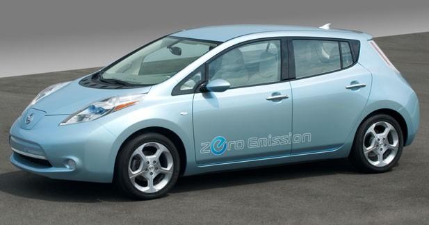 La Leaf bientôt vendue dans tout le réseau Nissan