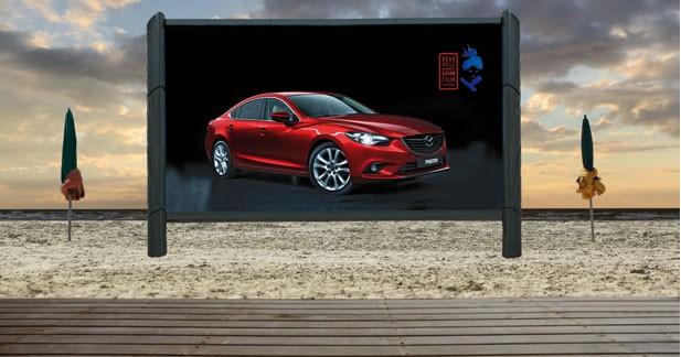 Mazda fait son cinéma à Deauville